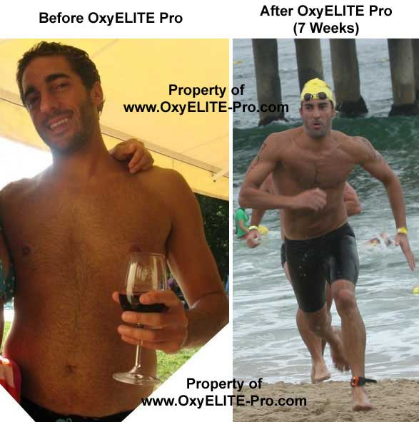 OxyELITE Pro Before and After