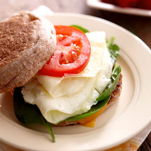 Delicious Egg White Sandwich!
