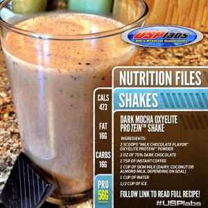 Oxy Elite Protein Recipes
