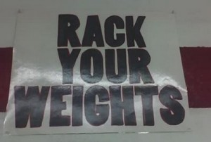 Rack Your Weights