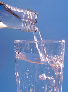 Drink enough water in the morning to curb your hunger.