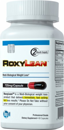 Roxylean gives you lots of energy